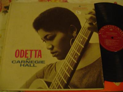 ODETTA - AT CARNEGIE HALL - VANGUARD { Z 75