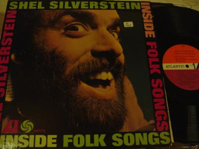 SHEL SILVERSTEIN - INSIDE FOLK SONGS - ATLANTIC { Z 137
