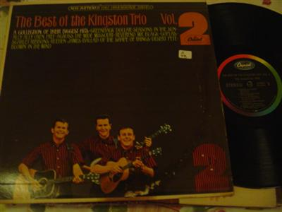 KINGSTON TRIO - BEST OF VOL 2 - CAPITOL { Z 78