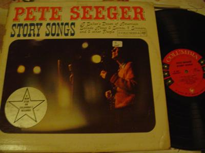 PETE SEEGER - STORY SONGS - COLUMBIA { Z 165