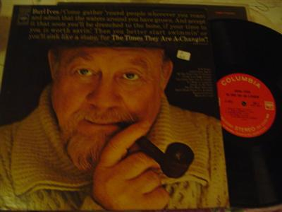 BURL IVES - TIMES THEY ARE CHANGIN - COLUMBIA { Z 167