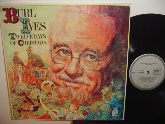 BURL IVES - 12 DAYS CHRISTMAS - PICKWICK { Z 1