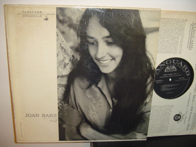 JOAN BAEZ - VOL 2 - VANGUARD { Z 10