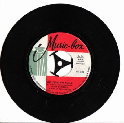 Terry Chrissos - Non Dirmi - Music Box Label Greek Pressing