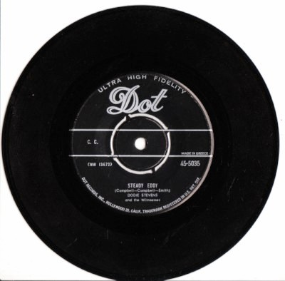 Dodie Stevens - Steady Eddy - Dot Label Greek Pressing