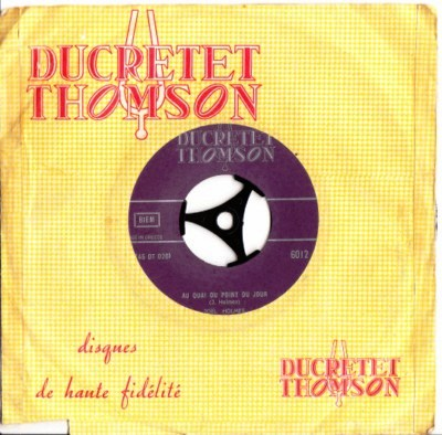 Joel Holmes - Dis Donc - Ducretet Thomson - Greek Pressing