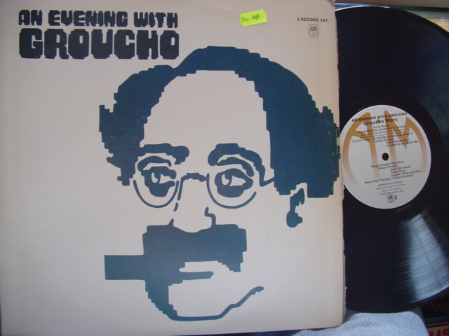 GROUCHO MARX - AN EVENING WITH - A & M 2LP