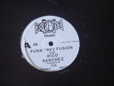 Funk DJ Rev Fusion Rico Sanchez & Harvey* - The Funk {K 248
