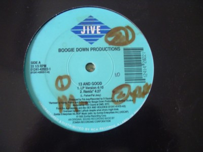 BOOGIE DOWN PRODUCTIONS - 13 & GOOD - JIVE { K 251