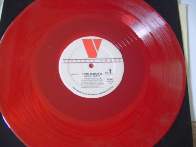 B BOYS - GIRLS PT 2 - VINTERTAINMENT RED VINYL { K 255