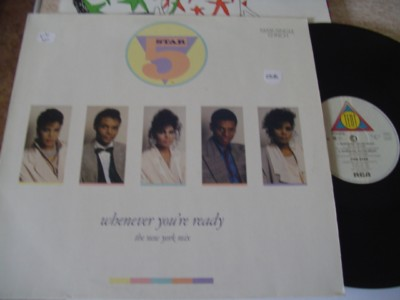 5 STAR - WHENEVER YOURE READY - RCA { K 238