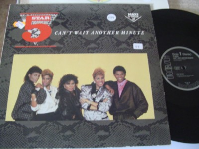 5 STAR - CANT WAIT ANOTHER MINUTE - RCA { K 239