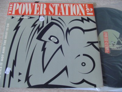 "THE POWER STATION 12"" - SOME LIKE IT HOT { K 233"