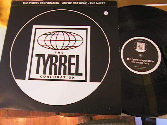 "Tyrrel Corporation - You're Not Here (2x12"", Promo) # 350"