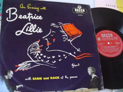 BEATRICE LILLIE - AN EVENING WITH - DECCA LK