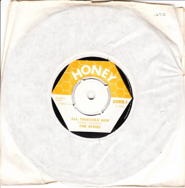 COMB 01 - The Dixies - All together now - Honey Records