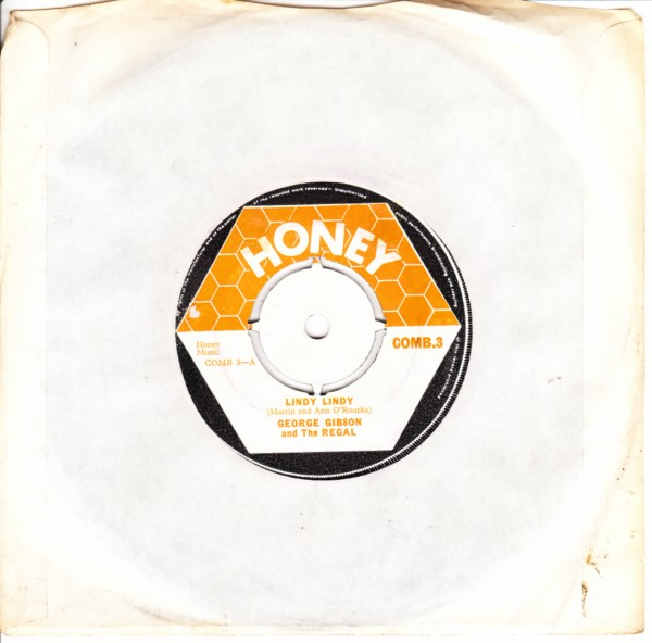 COMB 03 - George Gibson & Regal - Honey Records 1969