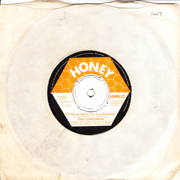 COMB 22 - The Concords - Honey Records 1970