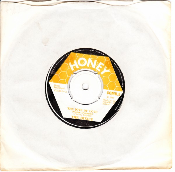COMB 05 - The Dixies - joys of love - Honey Records