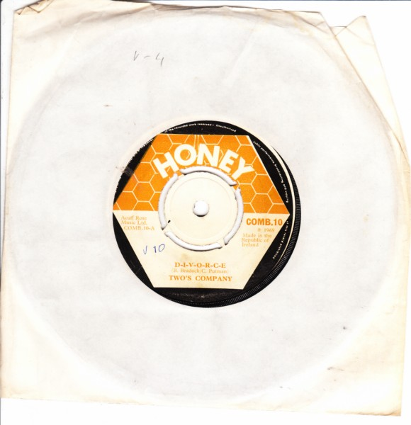 COMB 10 - Two's Company - DIVORCE - Honey Records
