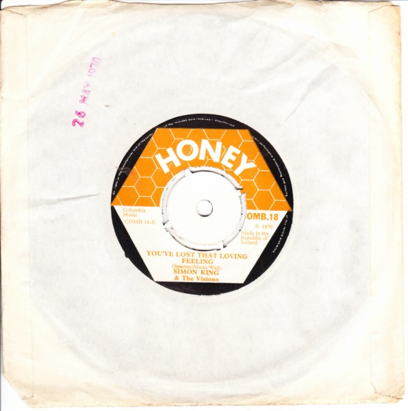 COMB 18 - Simon King & The Visions - Honey Records