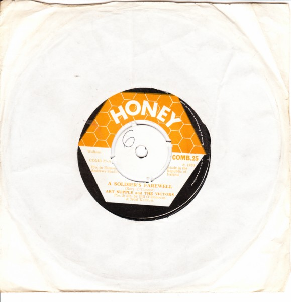 COMB 25 - Art Supple & The Victors - Honey Records