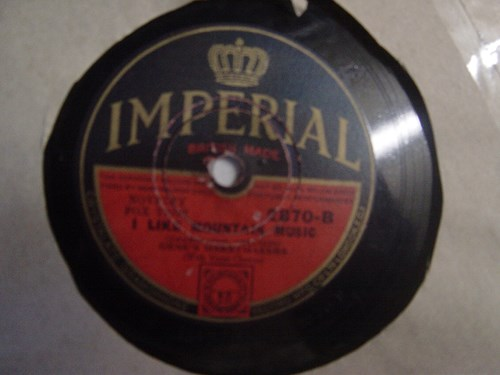 Dick Robertson / Gene's Merrymakers - Imperial 2870