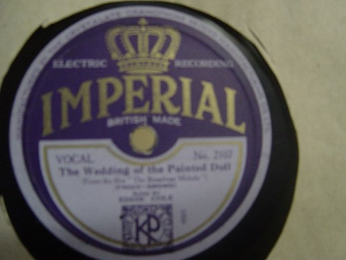 Eddie Cole / Pat O'Dell - Imperial 2107 UK
