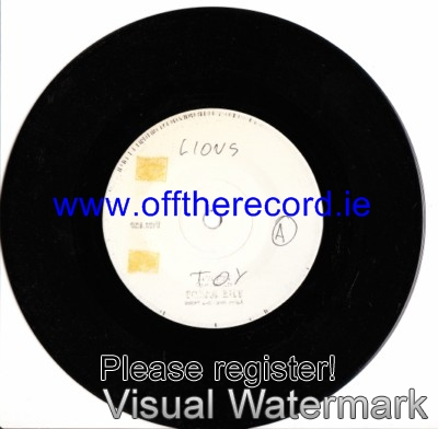 The Lions & Danny Pearse - Toy - Phoenix Test Pressing