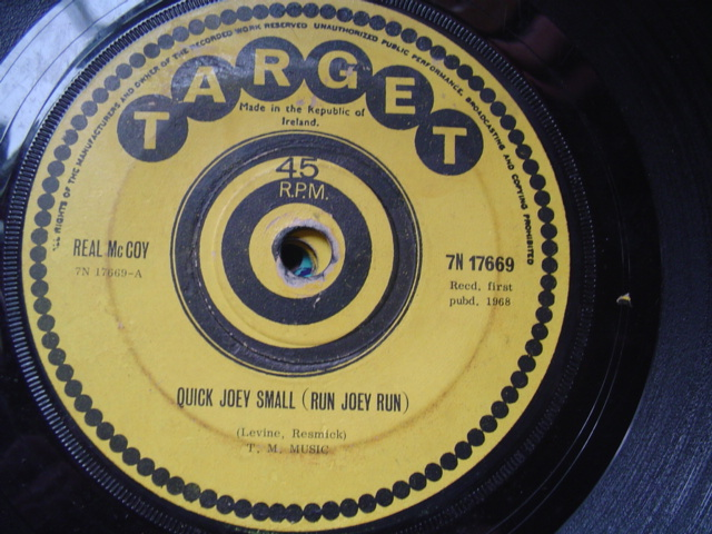 Target 7N17669 - REAL McCOY - QUICK JOEY SMALL 1968