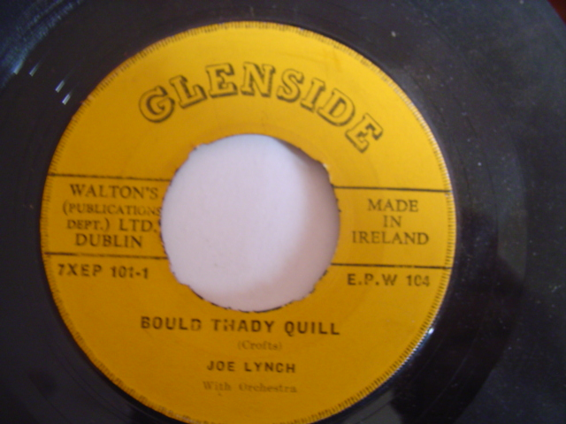 JOE LYNCH - BOULD THADY QUILL - GLENSIDE