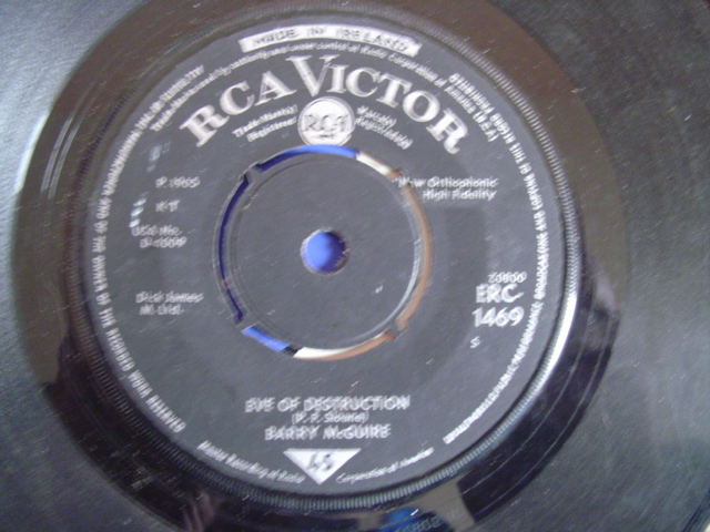 BARRY McGUIRE - EVE OF DESTRUCTION - RCA IRISH