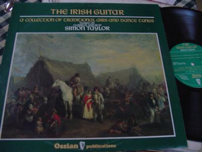SIMON TAYLOR - IRISH GUITAR - OSSIAN RECORDS { 187