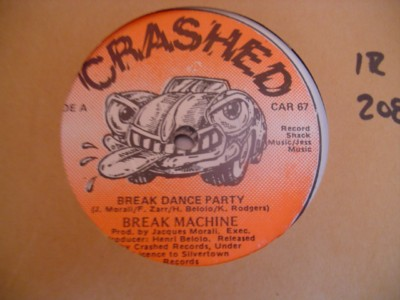 BREAK MACHINE - CRASHED RECORDS
