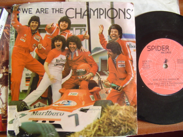 GINA DALE HAYES - CHAMPIONS - SPIDER RECORDS