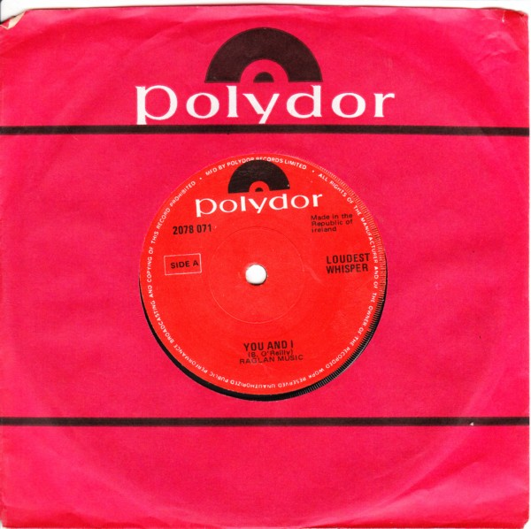 Polydor 2078071 - LOUDEST WHISPER - YOU & I