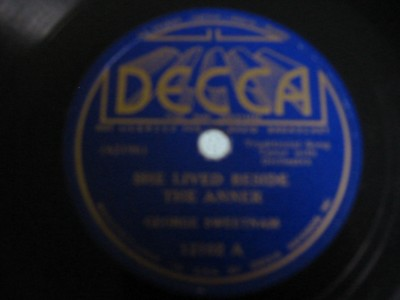 GEORGE SWEETMAN - KEVIN BARRY - DECCA 12102