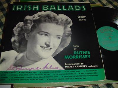 RUTHIE MORRISSEY - IRISH BALLADS - COPLEY { 227 [LP