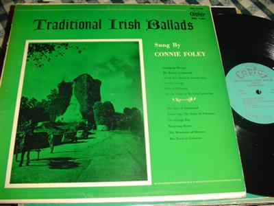 CONNIE FOLEY - TARD IRISH BALLADS - COPLEY { 228