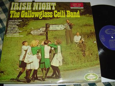 GALLOWGLASS CEILI BAND - IRISH NIGHT - HALLMARK { 249