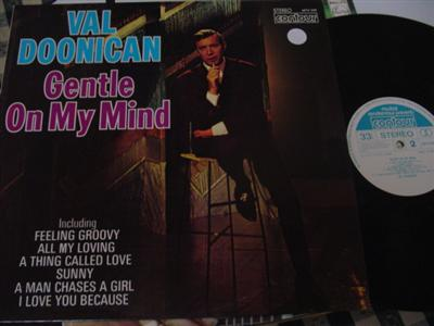 VAL DOONICAN - GENTLE ON MIND - CONTOUR