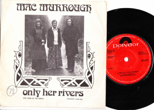 Polydor 2078037 - Mac Murrough - Only her Rivers - RARE PS