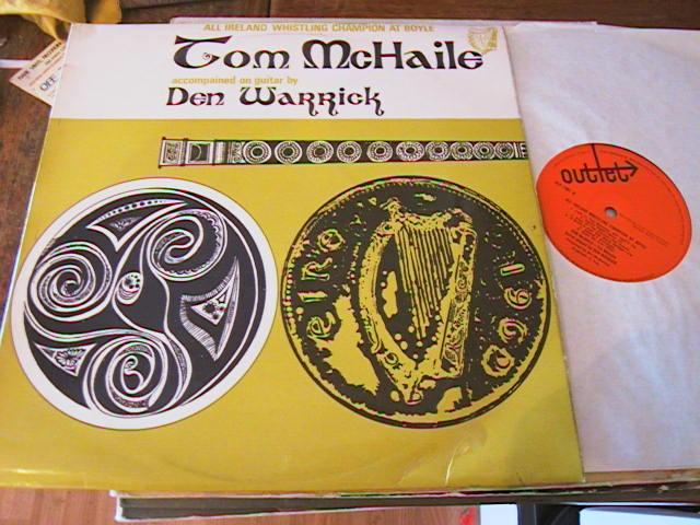 TOM McHAILE - TIN WHISTLE - OUTLET RECORDS