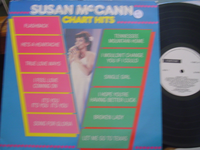 SUSAN McCANN - CHART HITS - FORTUNE RECORDS