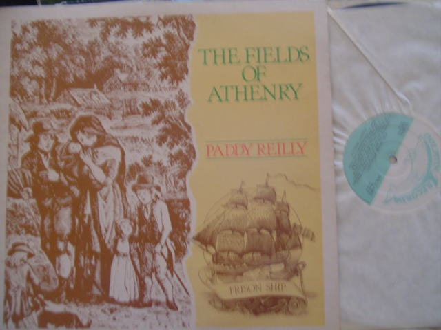 PADDY REILLY - FIELDS ATHENRY - DOLPHIN LP