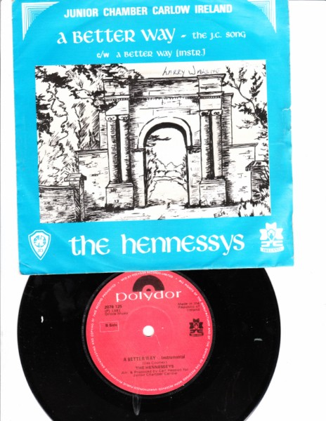 Polydor 2078125 - THE HENNESSYS - A BETTER WAY -