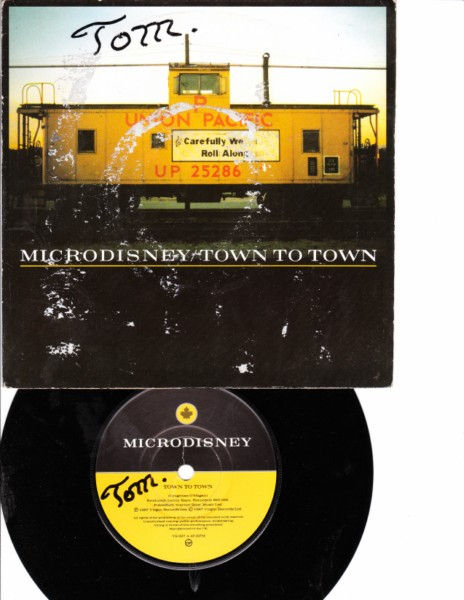 MICRODISNEY - TOWN TO TOWN - VIRGIN 1987