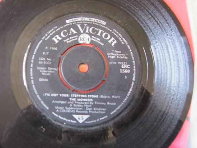 THE MONKEES - RCA RECORDS IRISH PRESS # 2