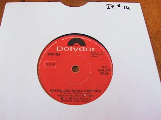 Polydor 2078061 - THE MULLOY BROTHERS - Im a Rover