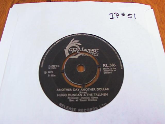RL 0585 - HUGO DUNCAN - RELEASE RECORDS IRISH PRESS